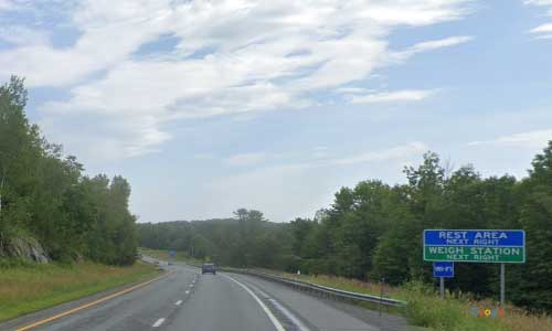 vt interstate 89 vermont i89 randolph information welcome center rest area mile marker 32 southbound off ramp exit