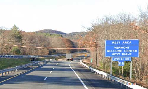 vt interstate 91 vermont i91 guilford information welcome center rest area mile marker 6 northbound off ramp exit