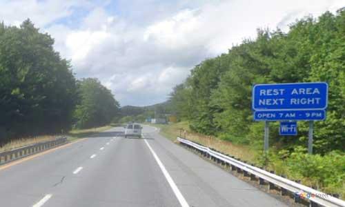 vt interstate 91 vermont i91 hartford information welcome center rest area mile marker 68 southbound off ramp exit