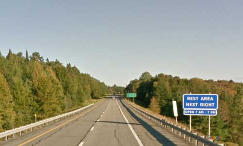 vt interstate 91 vermont i91 lyndonville information welcome center rest area mile marker 141 southbound off ramp exit