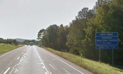 vt interstate 91 vermont i91 lyndonville information welcome center rest area mile marker 176 southbound off ramp exit