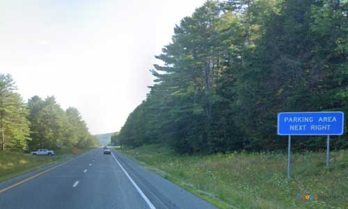 vt interstate 91 vermont i91 parking rest area wayside mile marker 100 southbound off ramp exit