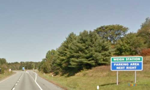 vt interstate 91 vermont i91 parking rest area wayside mile marker 167 northbound off ramp exit
