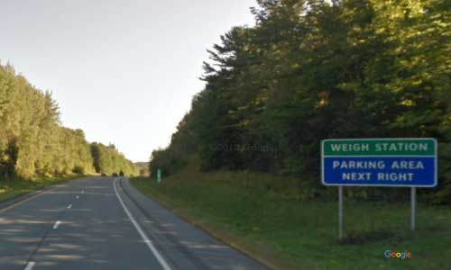 vt interstate 91 vermont i91 parking rest area wayside mile marker 167 southbound off ramp exit